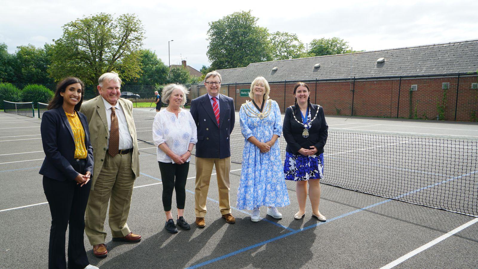 Photo of Refurbished tennis court