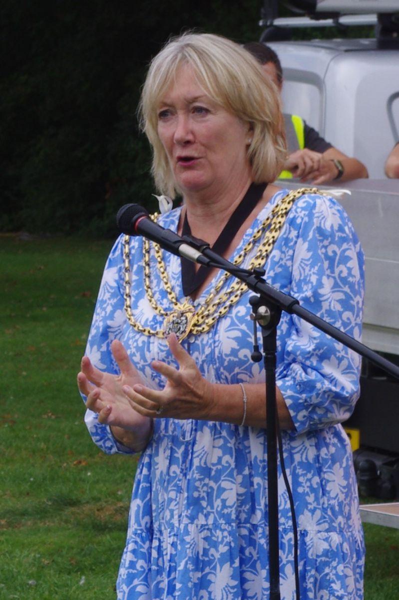 Photograph of Cllr Jill Bray Mayor of Reigate & Banstead