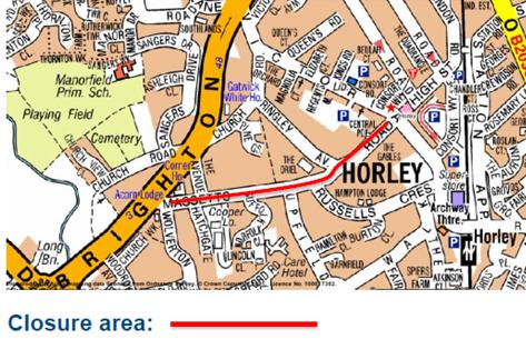 Map of Massetts Road