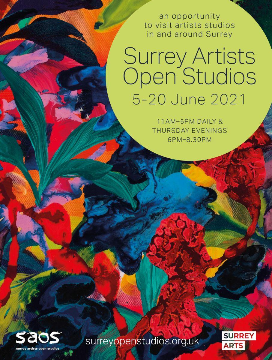 Poster for Surrey Artists Open Studios