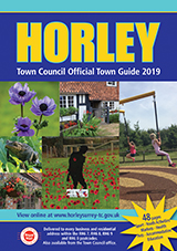 Horley Town Guide 2019 Front Cover